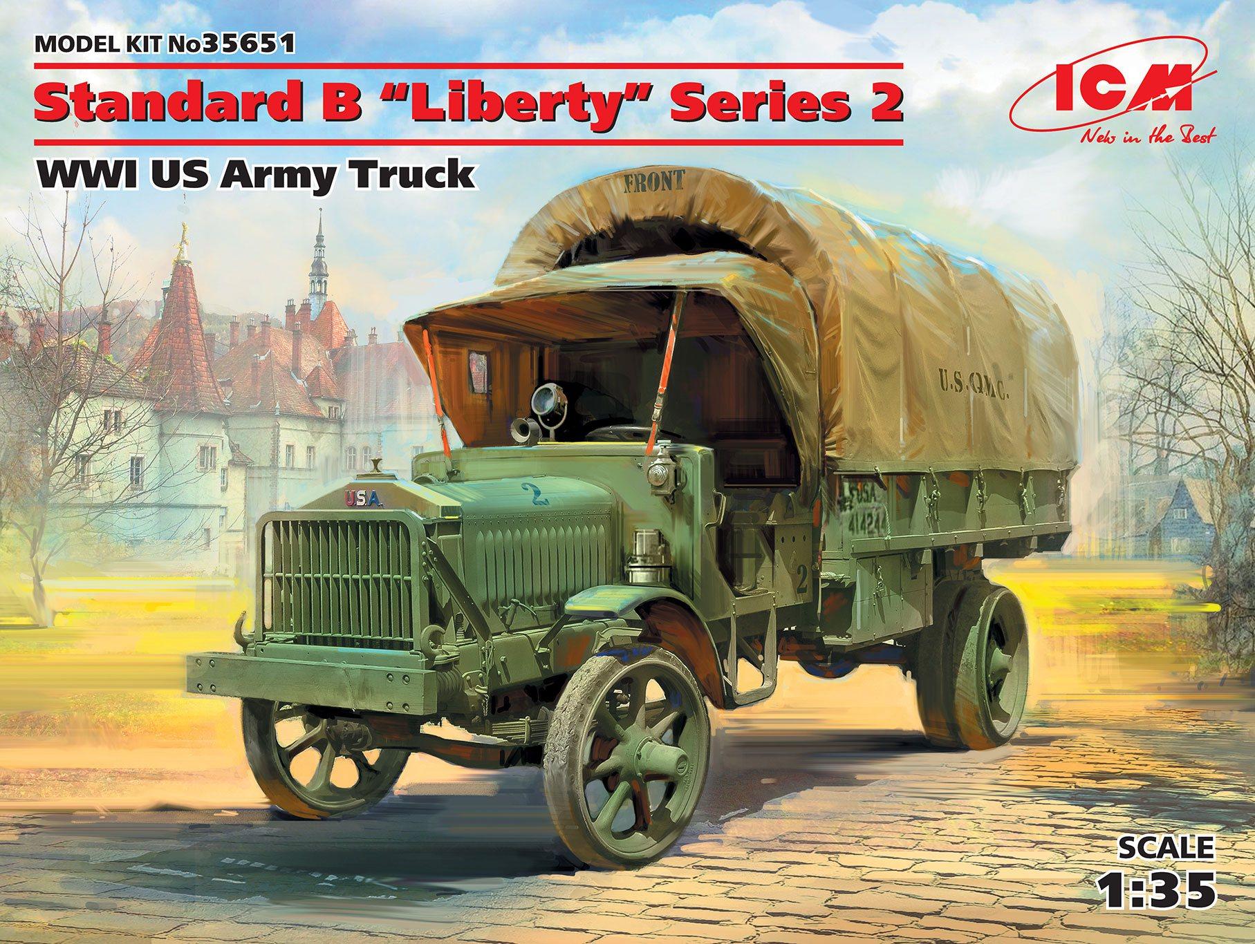 "ICM Standard B ""Liberty"" Series 2, WWI US Army Truck"