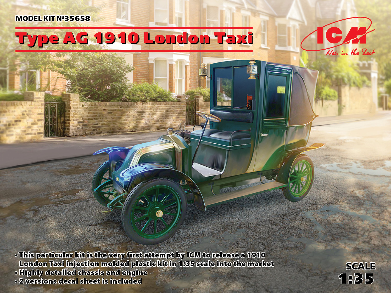 ICM Type AG 1910 London Taxi