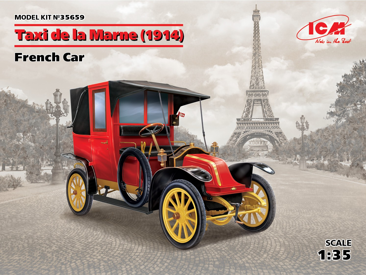 ICM Taxi de la Marne (1914), French Car