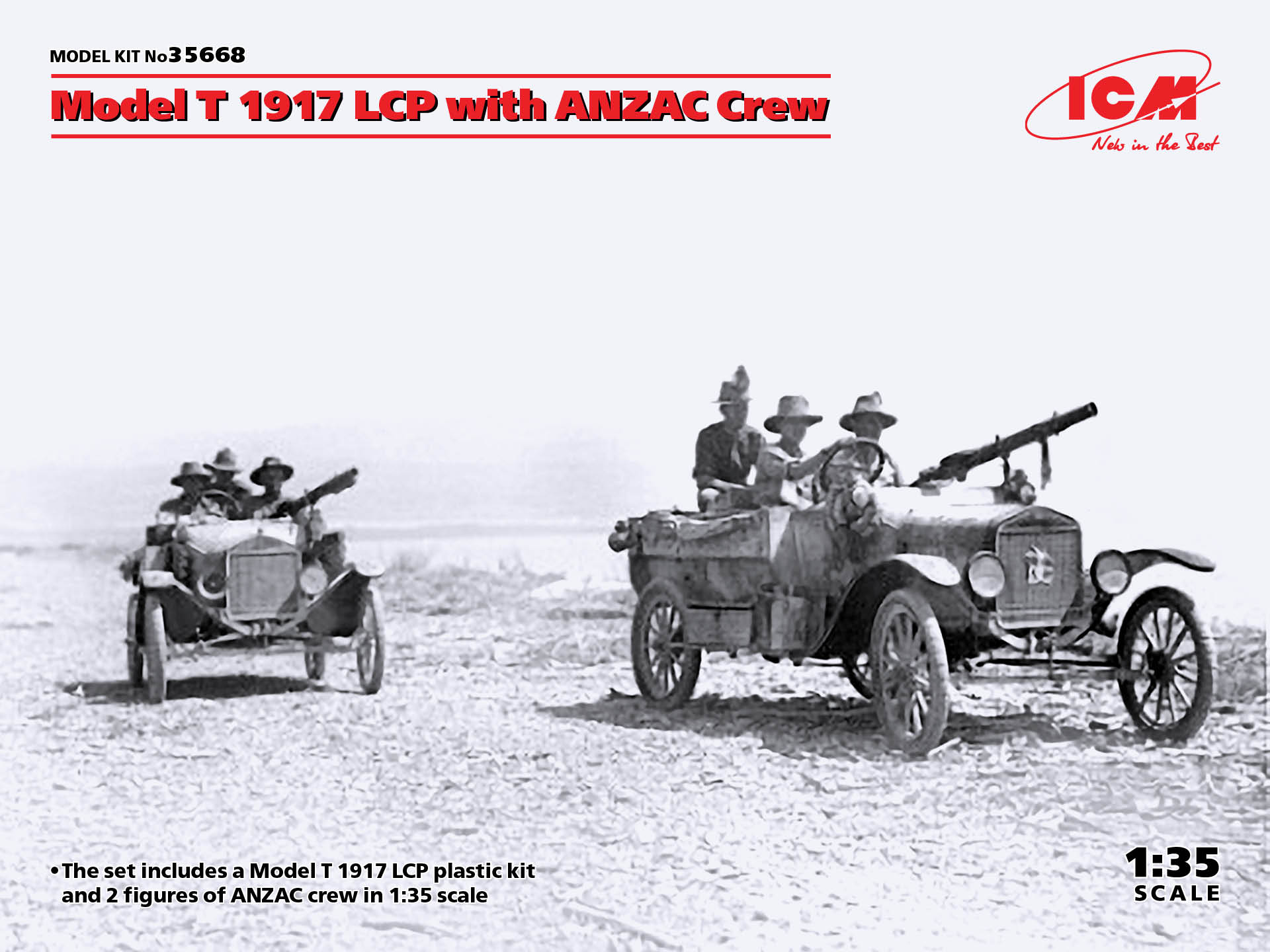 ICM Model T 1917 LCP with ANZAC Crew