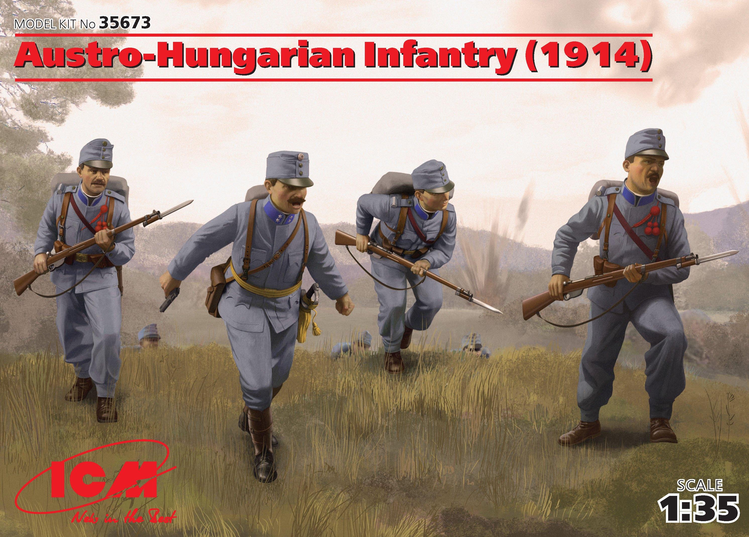 ICM Austro-Hungarian Infantry (1914) (4 figures)