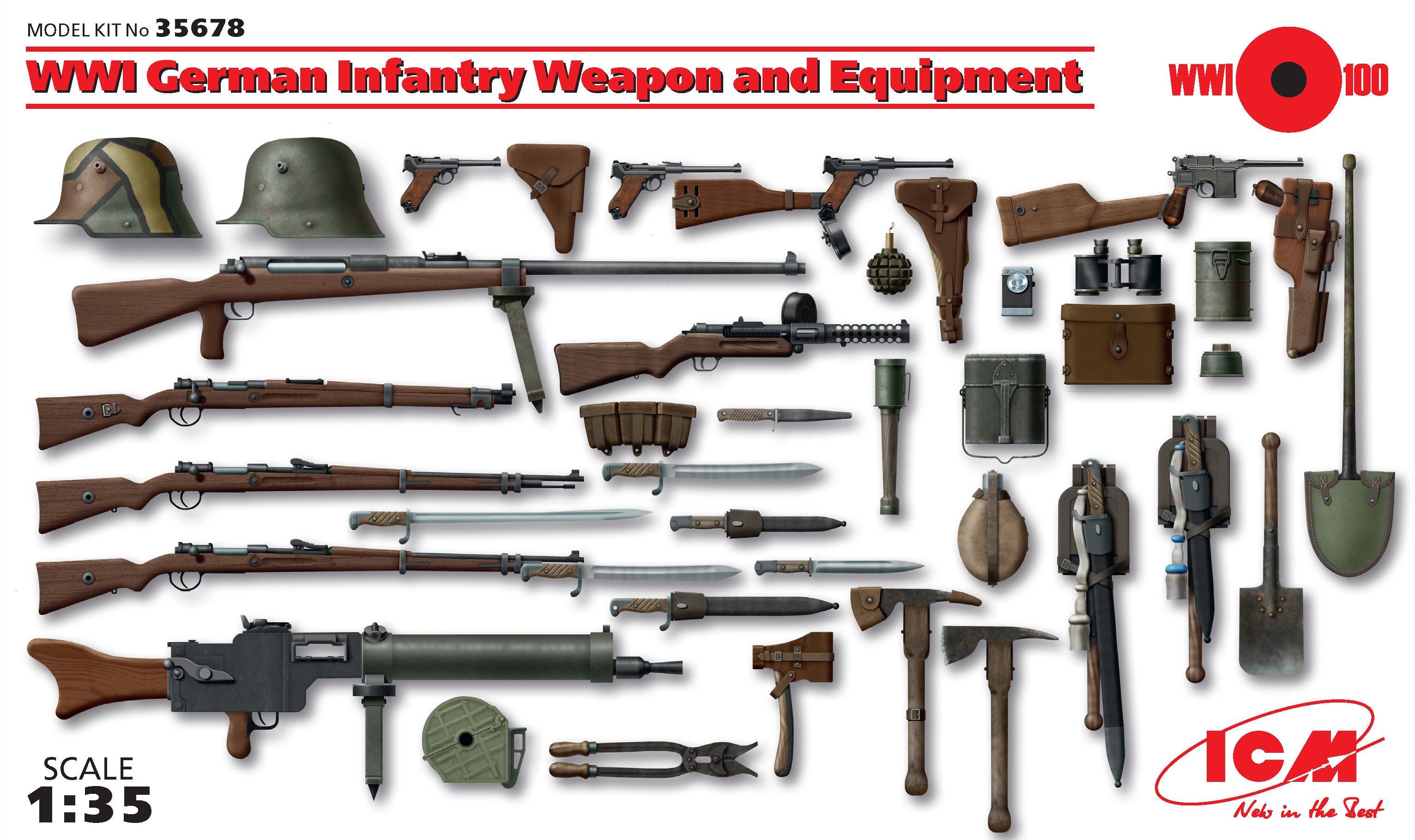 ICM WWI German Infantry Weapon and Equipment