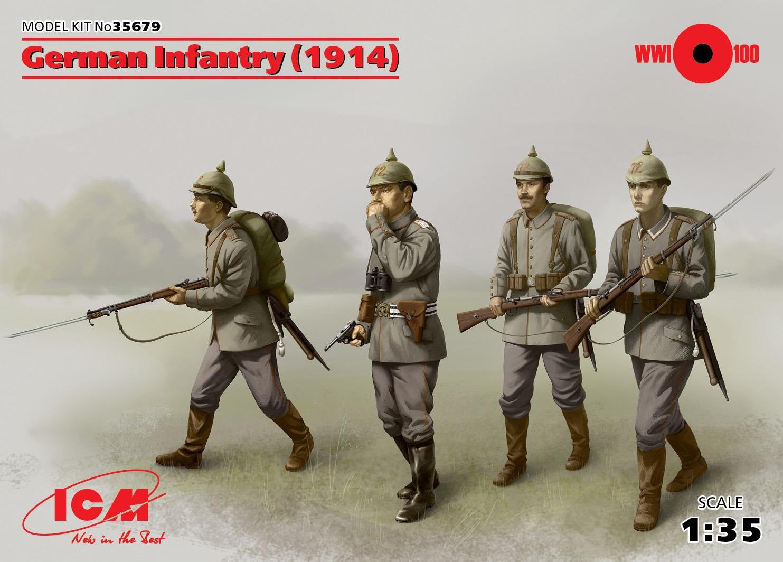 ICM German Infantry (1914) (4 figures)