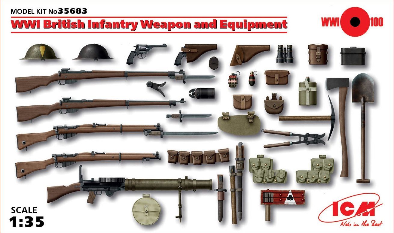 ICM WWI British Infantry Weapon and Equipment