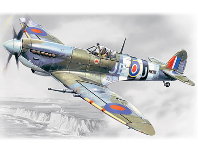 ICM Spitfire Mk.IX, WWII British Fighter