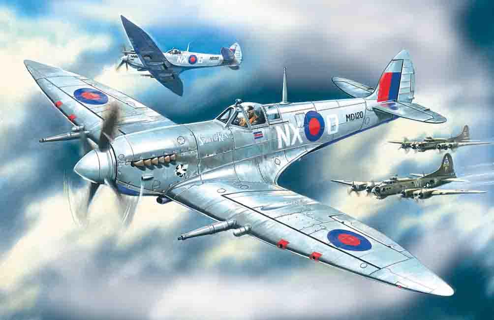 ICM Spitfire Mk.VII, WWII British Fighter