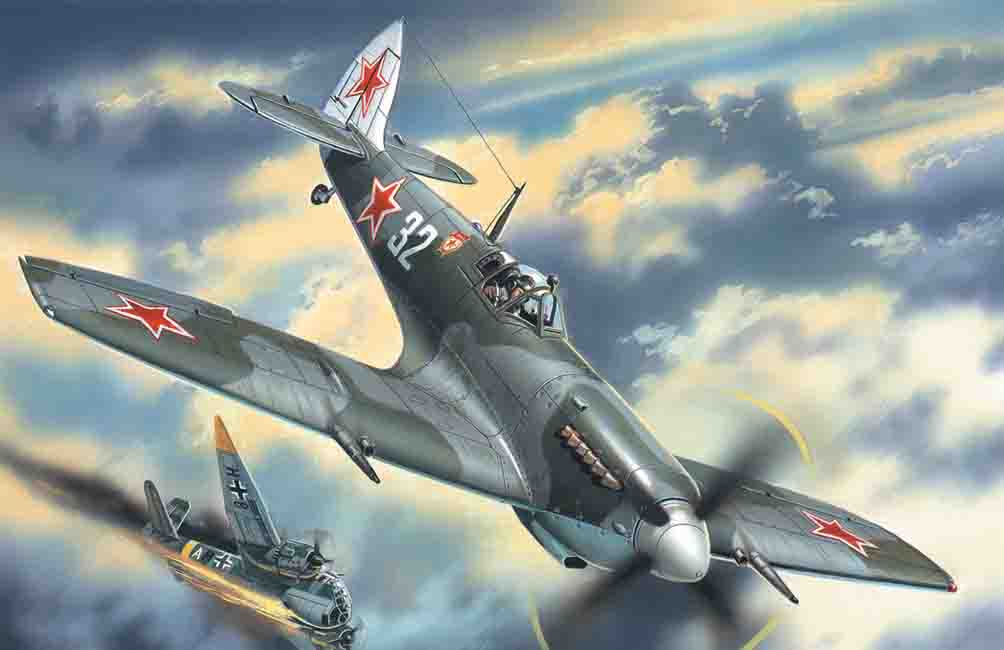 ICM 1/48 Spitfire LF.IXE, WWII Soviet Air Force Fighter