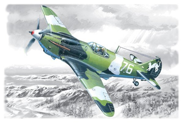 ICM LaGG-3 series 1-4, WWII Soviet Fighter