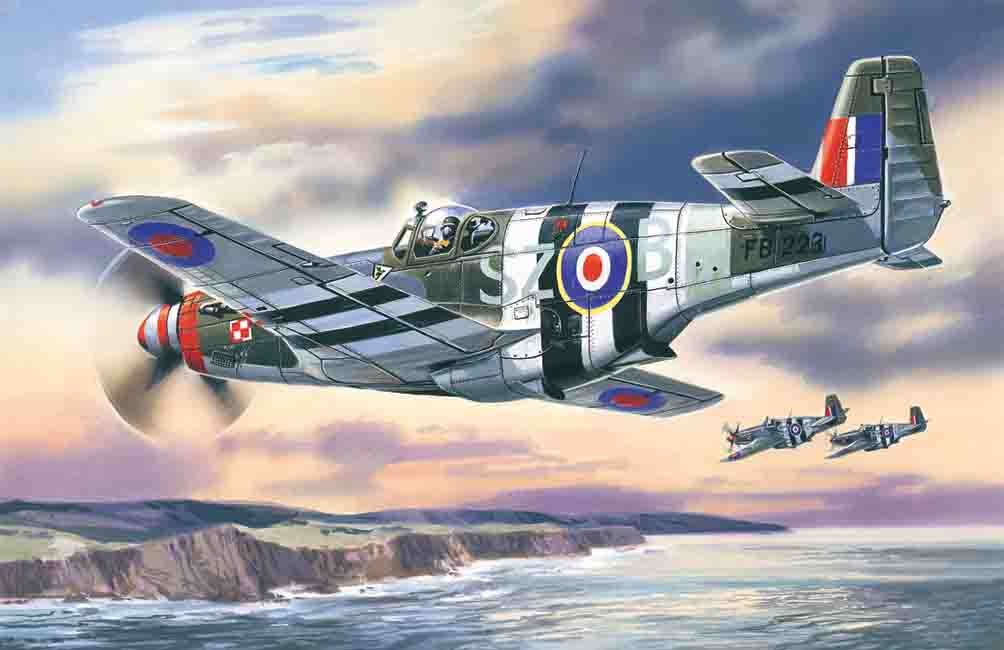 ICM Mustang Mk.III, WWII RAF Fighter