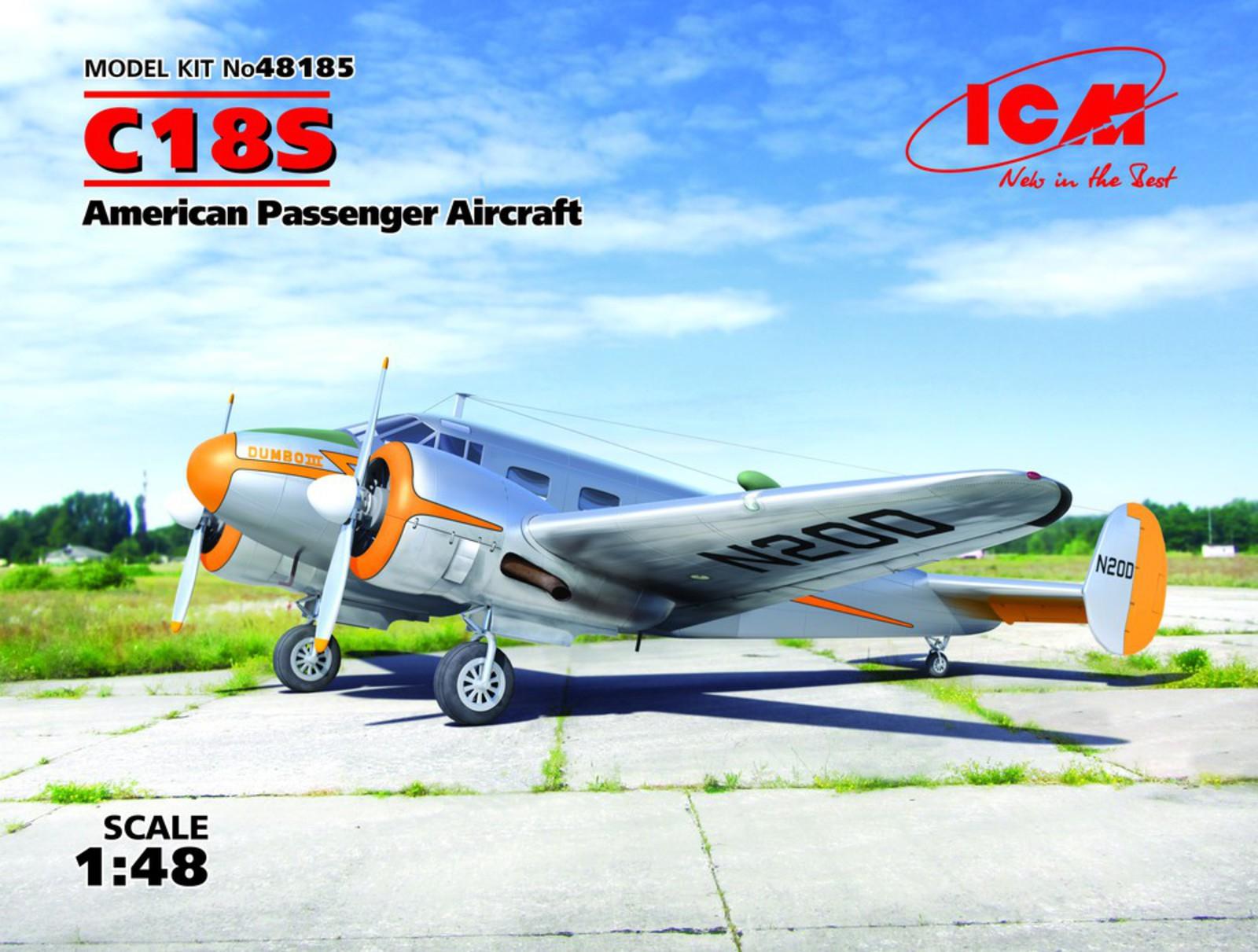 ICM C18S, American Passenger Aircraft