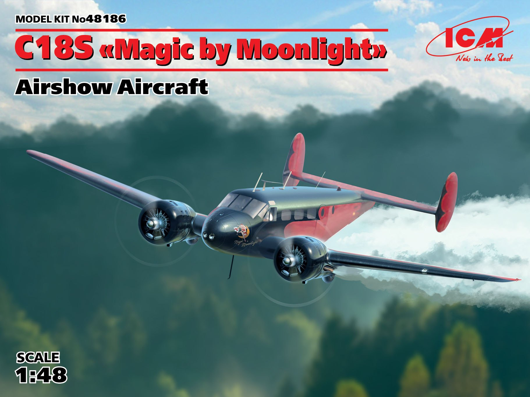 "ICM C18S ""Magic by Moonlight"", Airshow Aircraft"