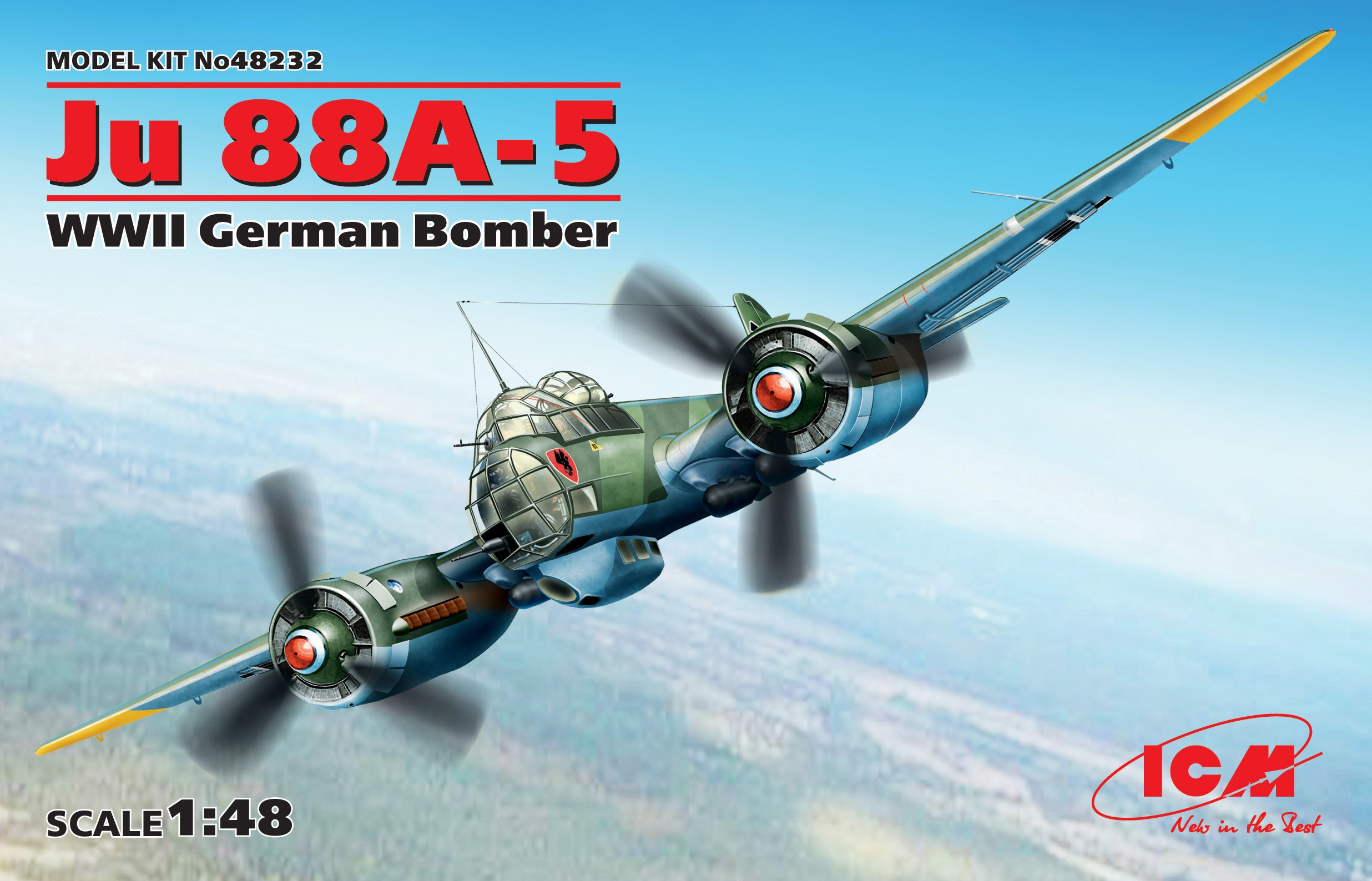 ICM Ju 88A-5, WWII German Bomber