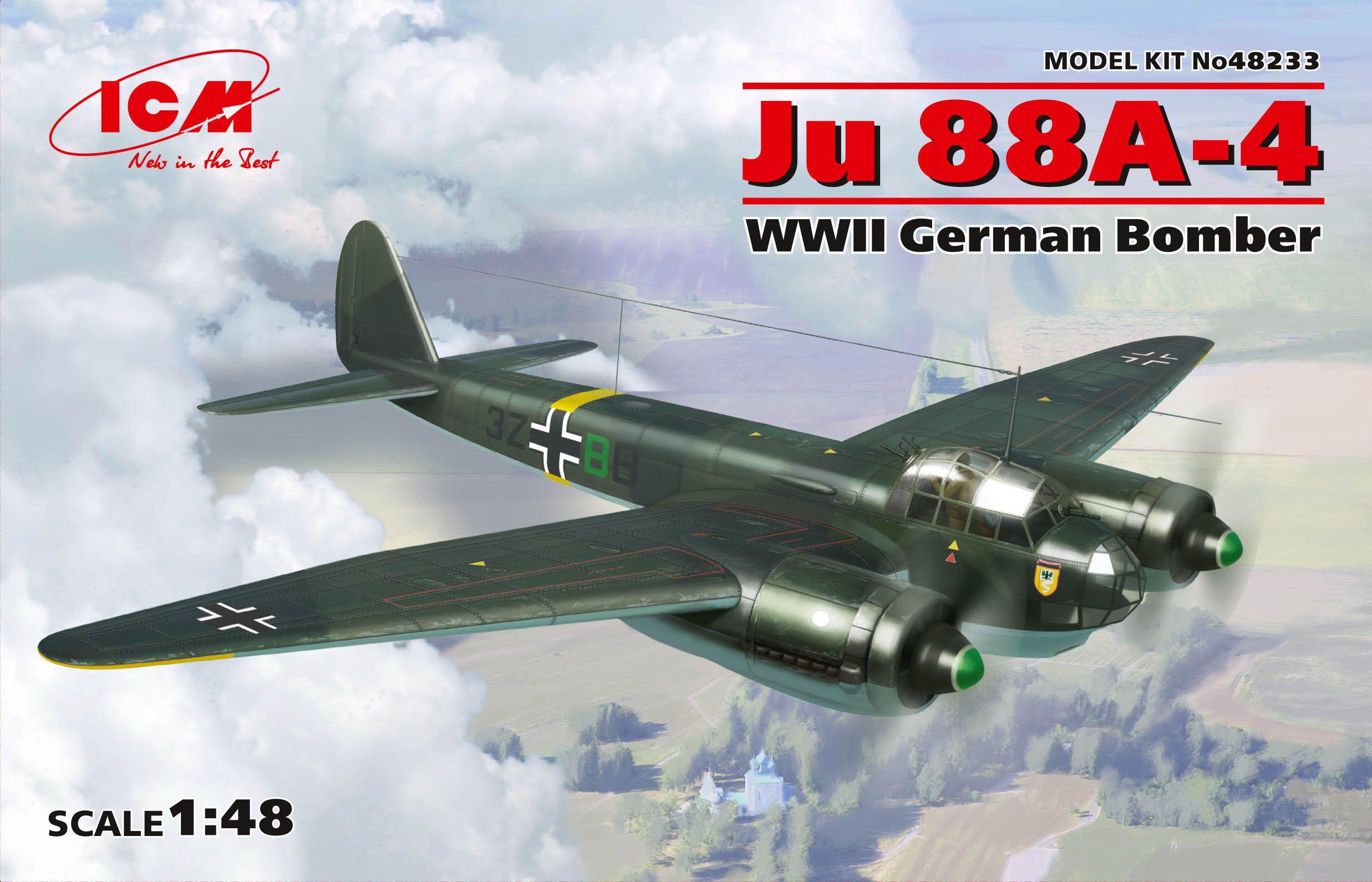 ICM Ju 88A-4, WWII German Bomber
