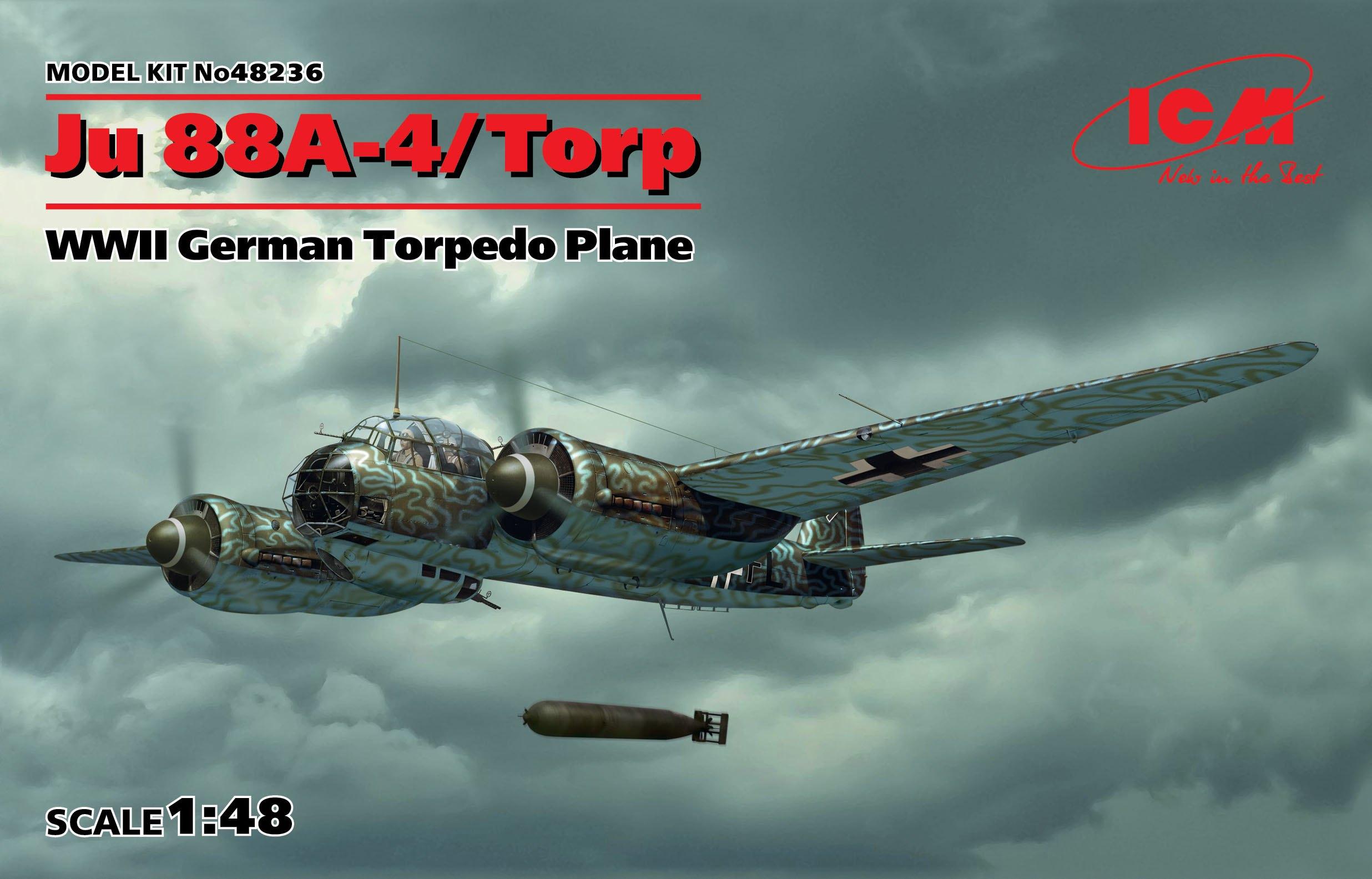 ICM Ju 88A-4 Torp/A-17, WWII German Torpedo Plane