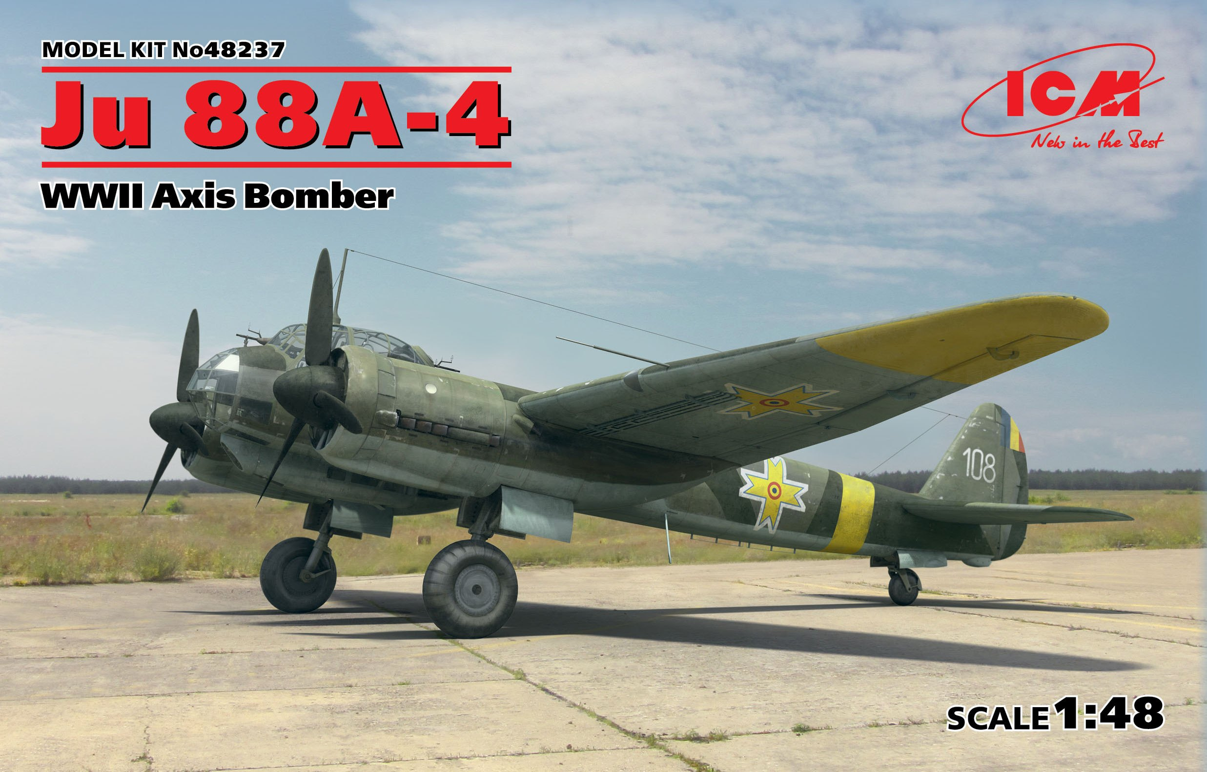 ICM Ju 88A-4, WWII Axis Bomber