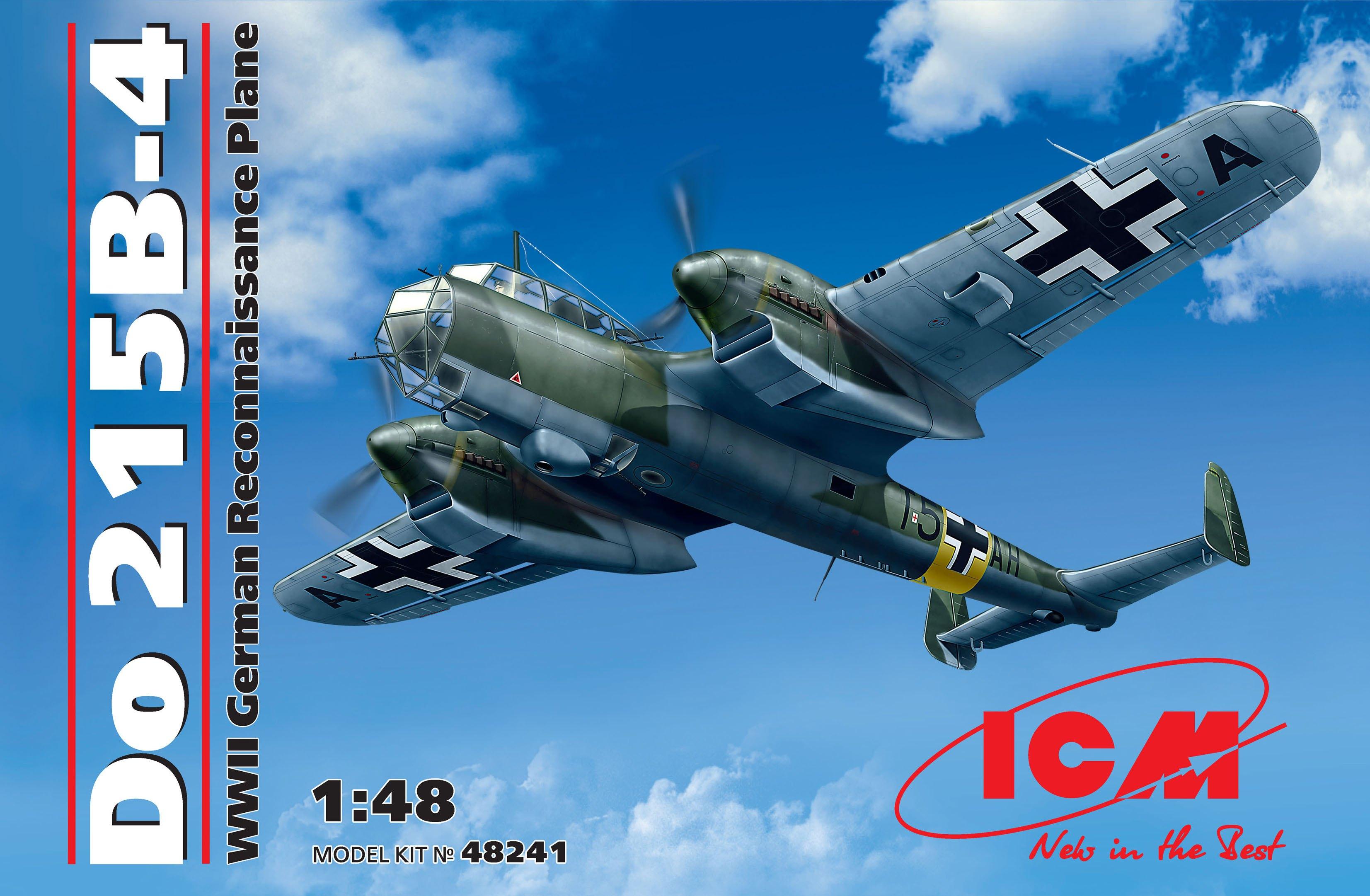 ICM Do 215 B-4, WWII German Reconnaissance Plane