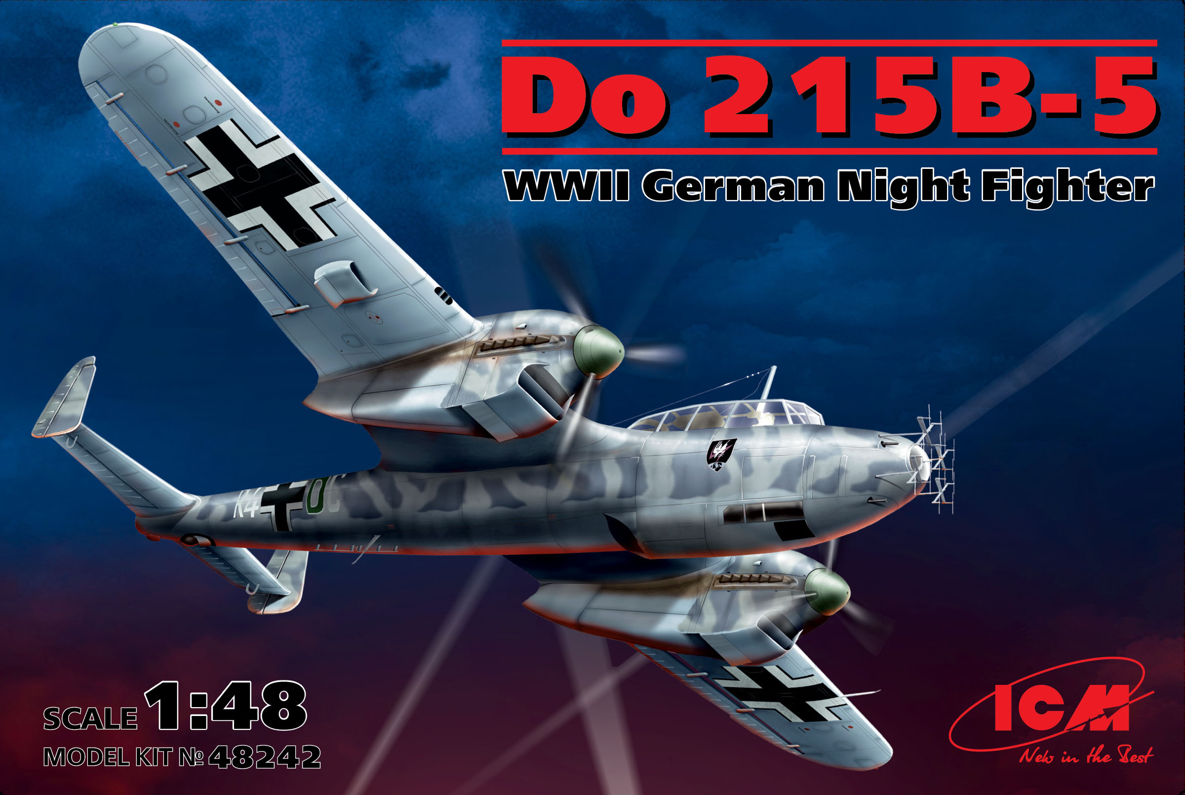 ICM Do 215 B-5, WWII German Night Fighter