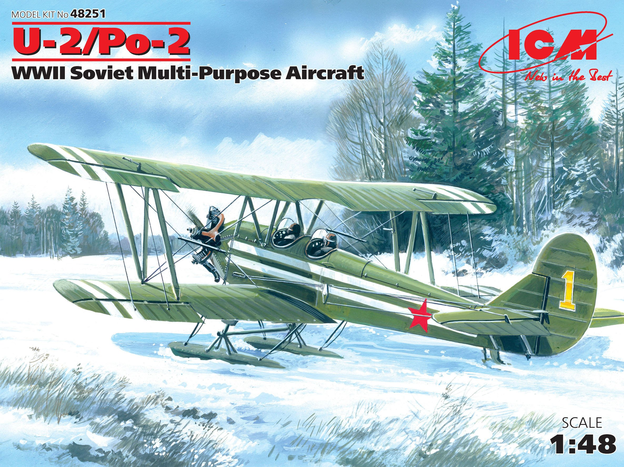 ICM U-2/Po-2, WWII Soviet Multi-Purpose Aircraft