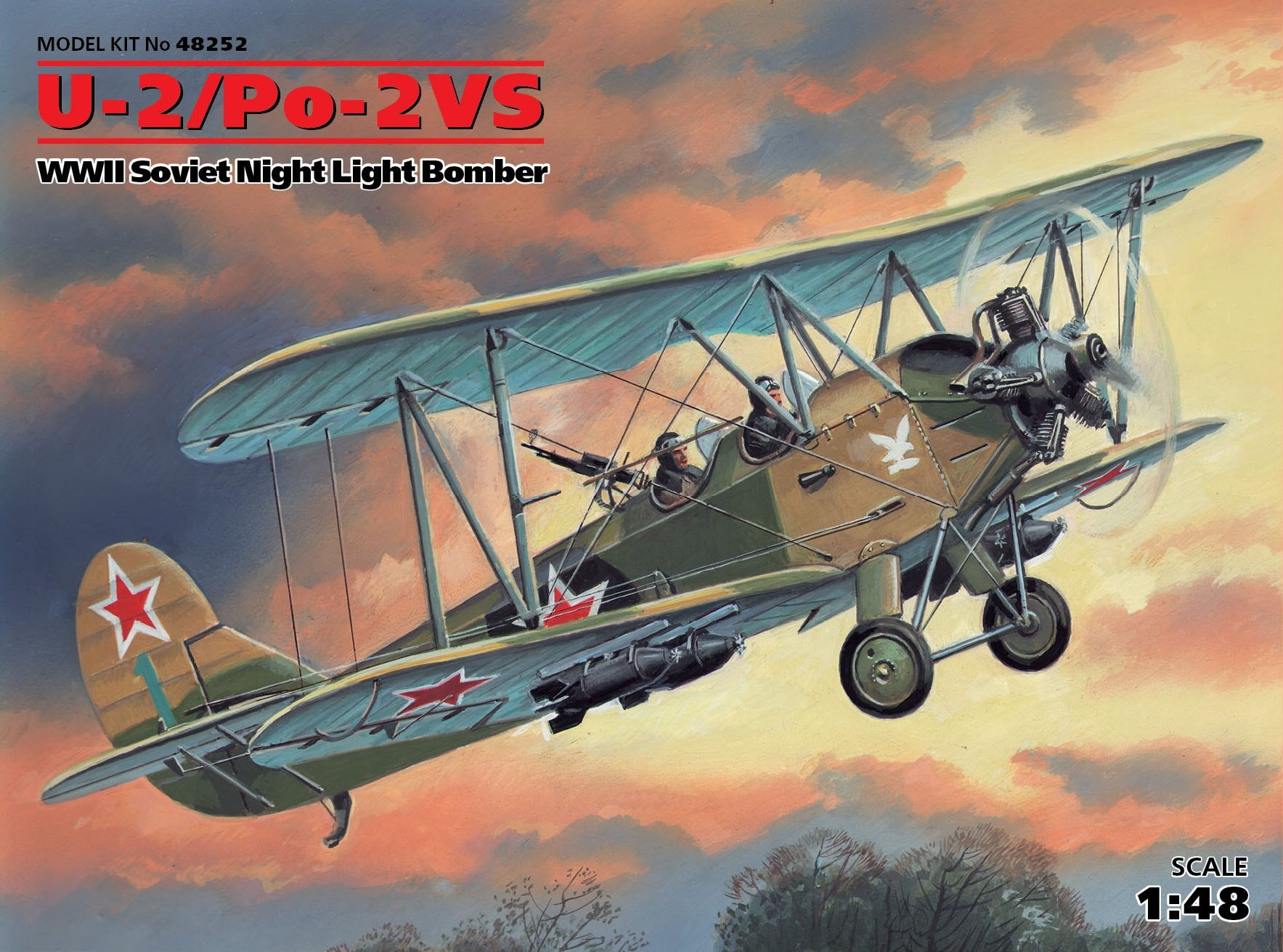 ICM U-2/Po-2VS, WWII Soviet Night Light Bomber
