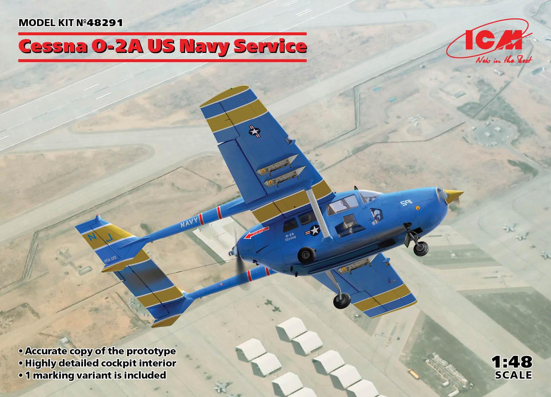 ICM Cessna O-2A US Navy Service