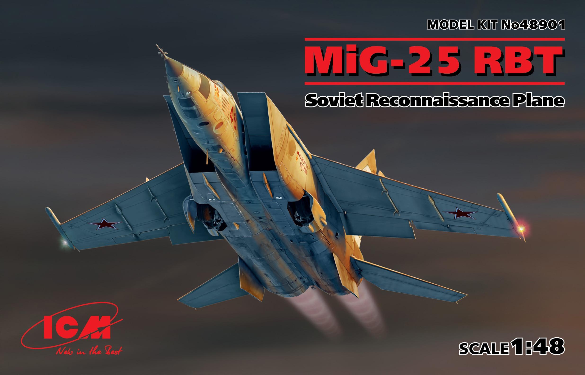 ICM MiG-25 RBT, Soviet Reconnaissance Plane
