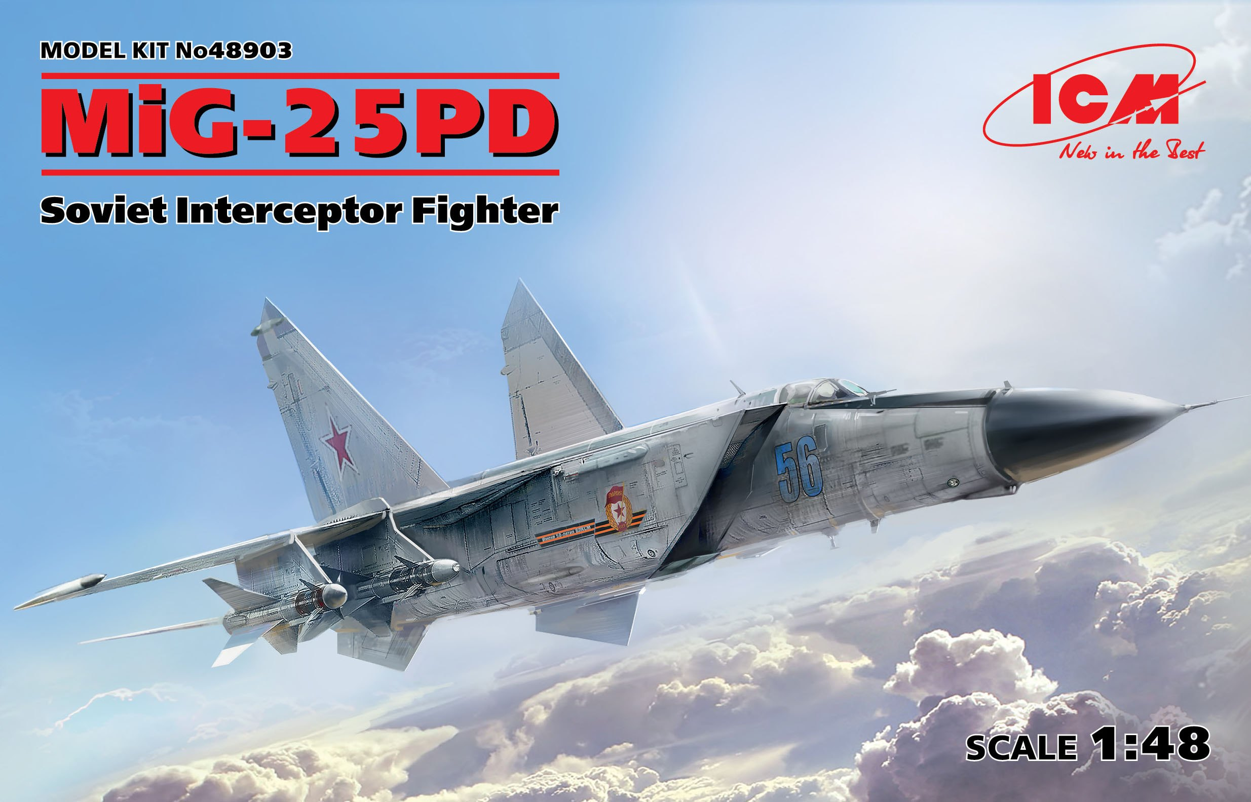 ICM MiG-25 PD, Soviet Interceptor Fighter