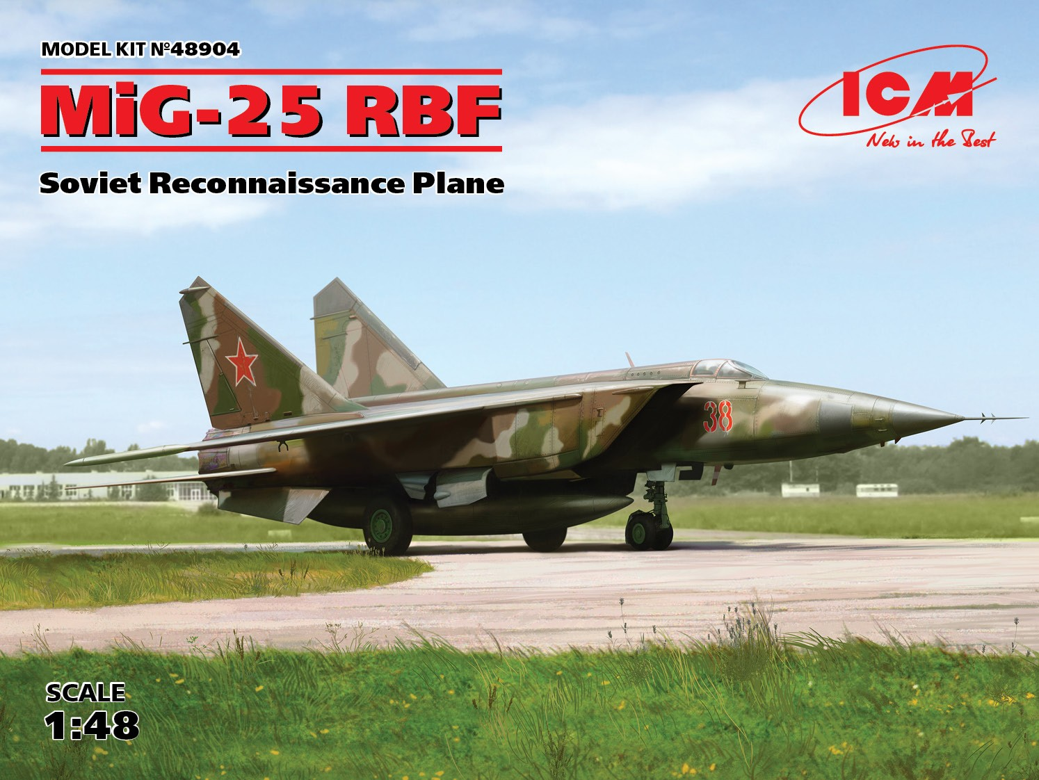 ICM MiG-25 RBF, Soviet Reconnaissance Plane