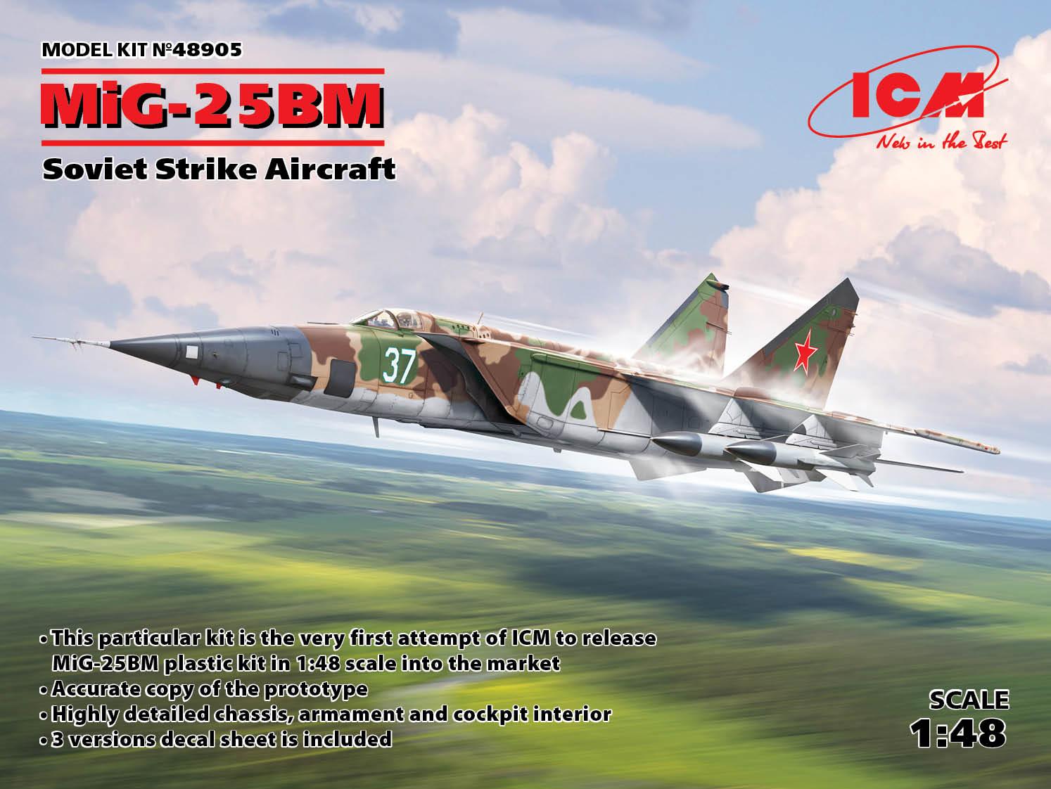 ICM MiG-25 BM, Soviet Strike Aircraft