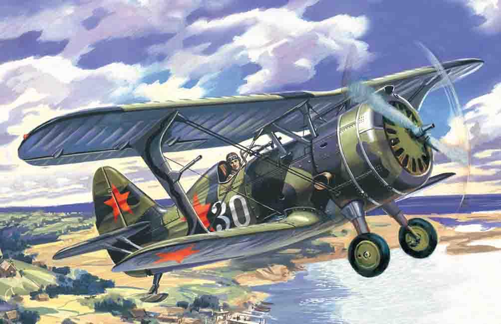 ICM I-15 bis, WWII Soviet Biplane Fighter