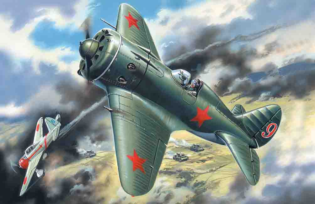 ICM I-16 type 18, WWII Soviet Fighter
