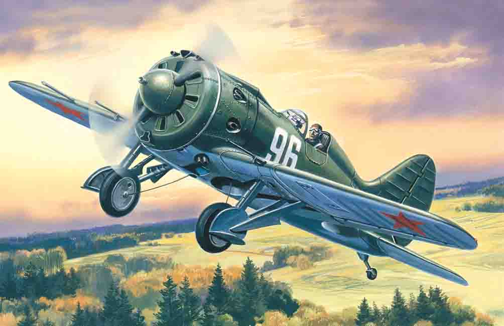 ICM I-16 type 28, WWII Soviet Fighter
