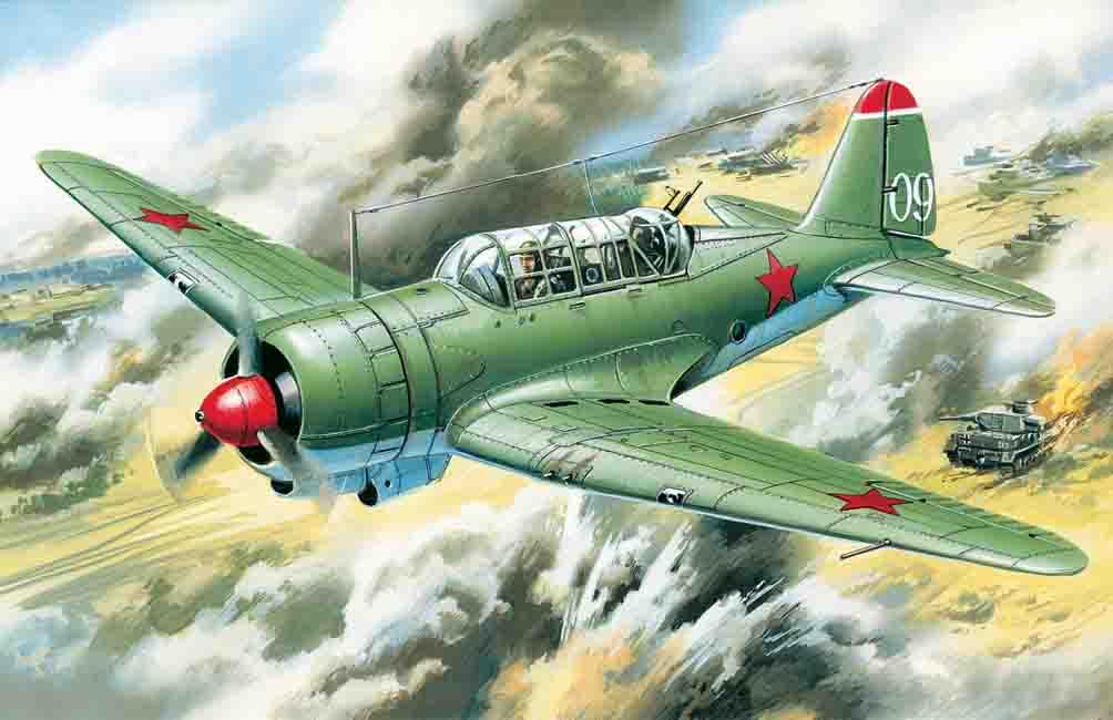 ICM Su-2, WWII Soviet Light Bomber