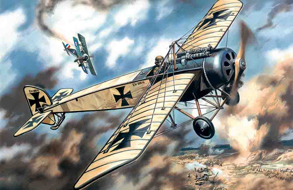 ICM Pfalz E.IV, WWI German Fighter