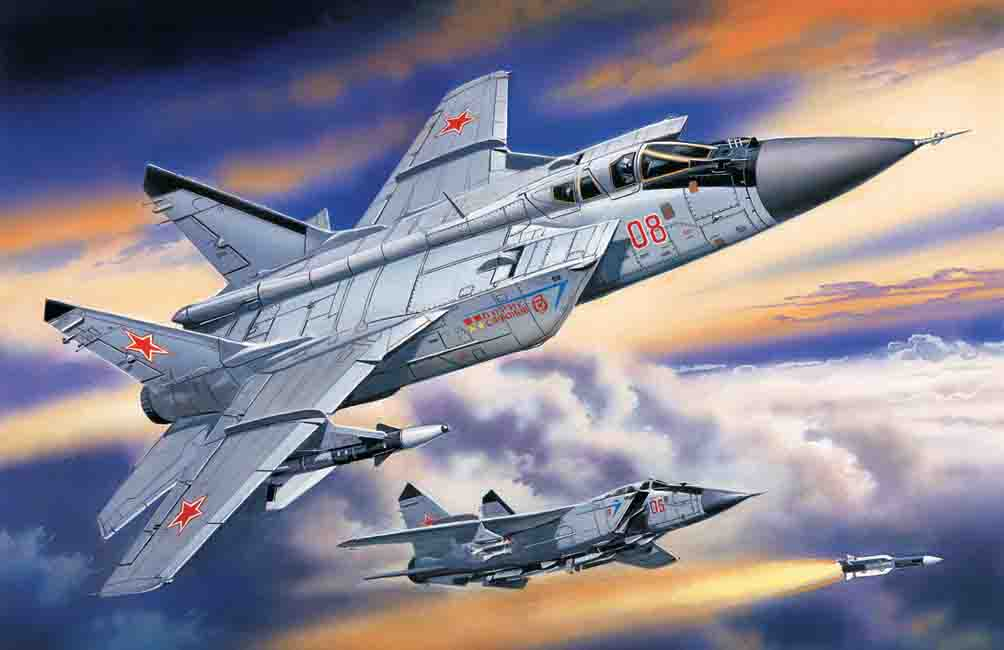 ICM Mikoyan-31B, Russian Heavy Interceptor Fighter