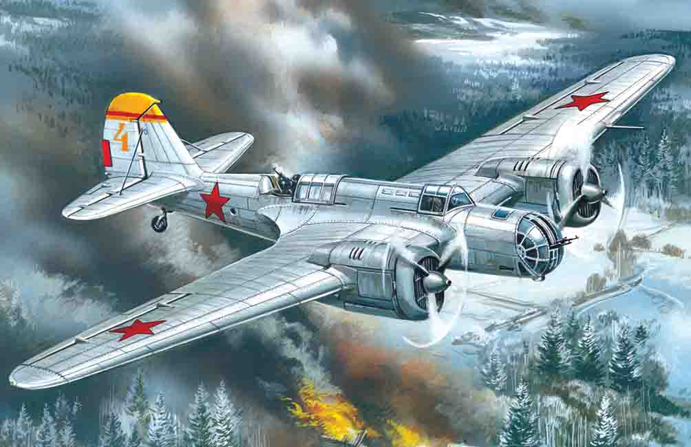 ICM SB 2M-100A, WWII Soviet Bomber