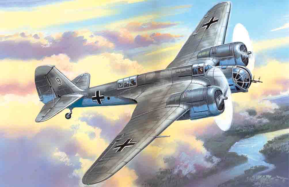 ICM Avia B-71, WWII German Air Force Bomber