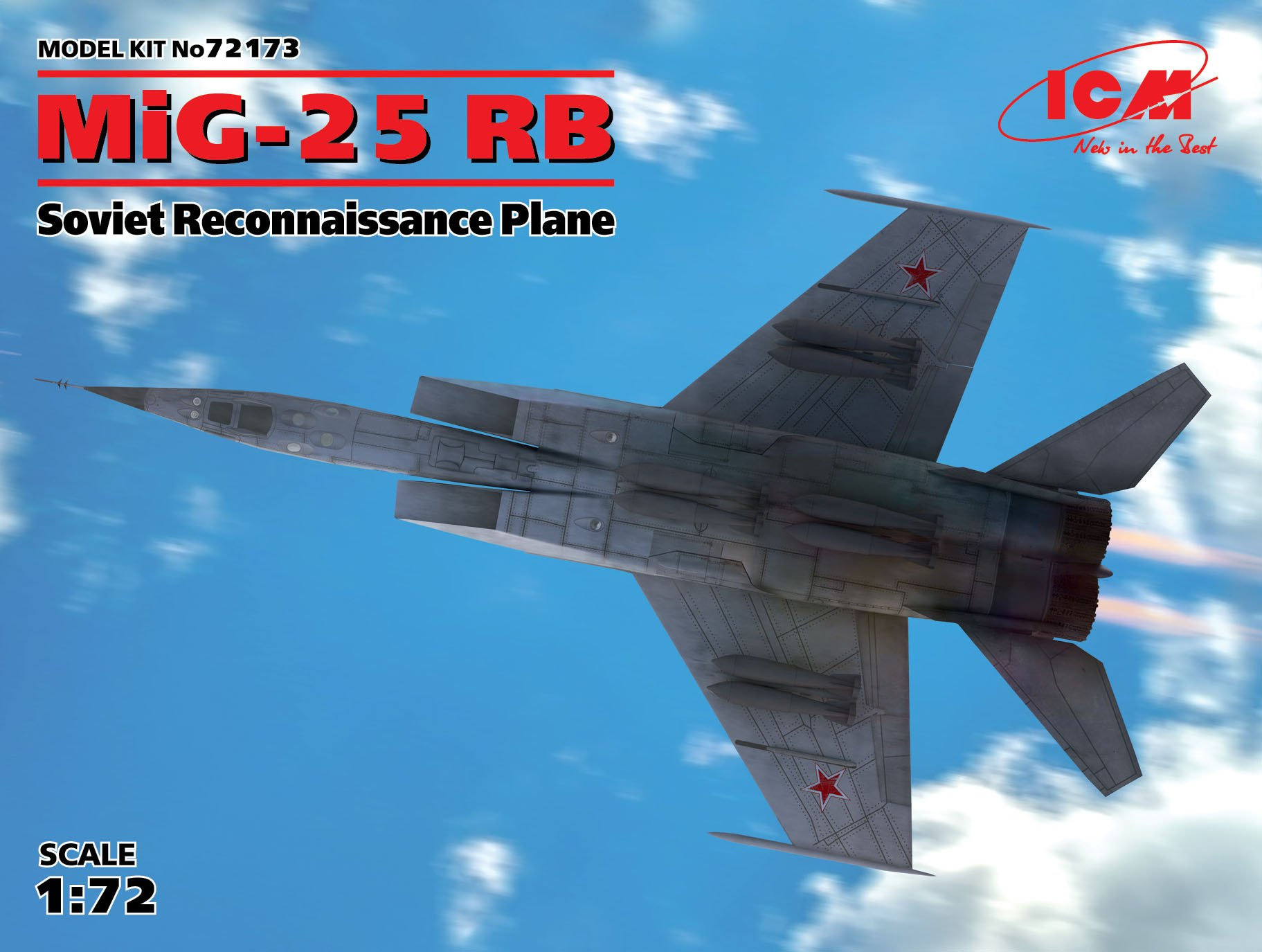 ICM MiG-25 RB, Soviet Reconnaissance Plane