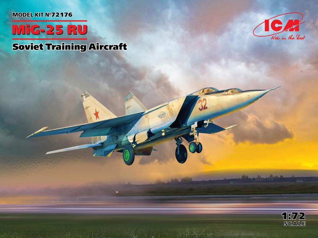 ICM MiG-25 RU, Soviet Training Aircraft