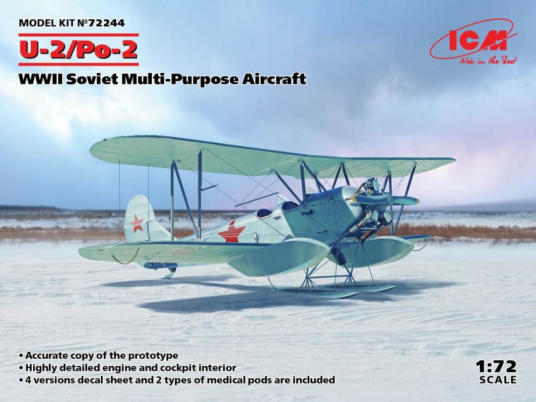 ICM U-2/Po-2, WWII Soviet Multi-Purpose Aircraft