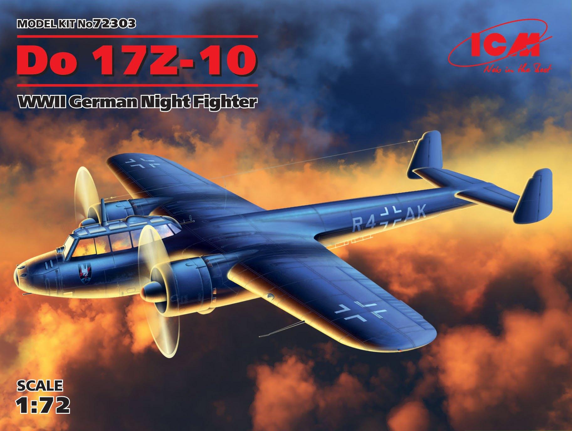 ICM Do 17Z-10, WWII German Night Fighter