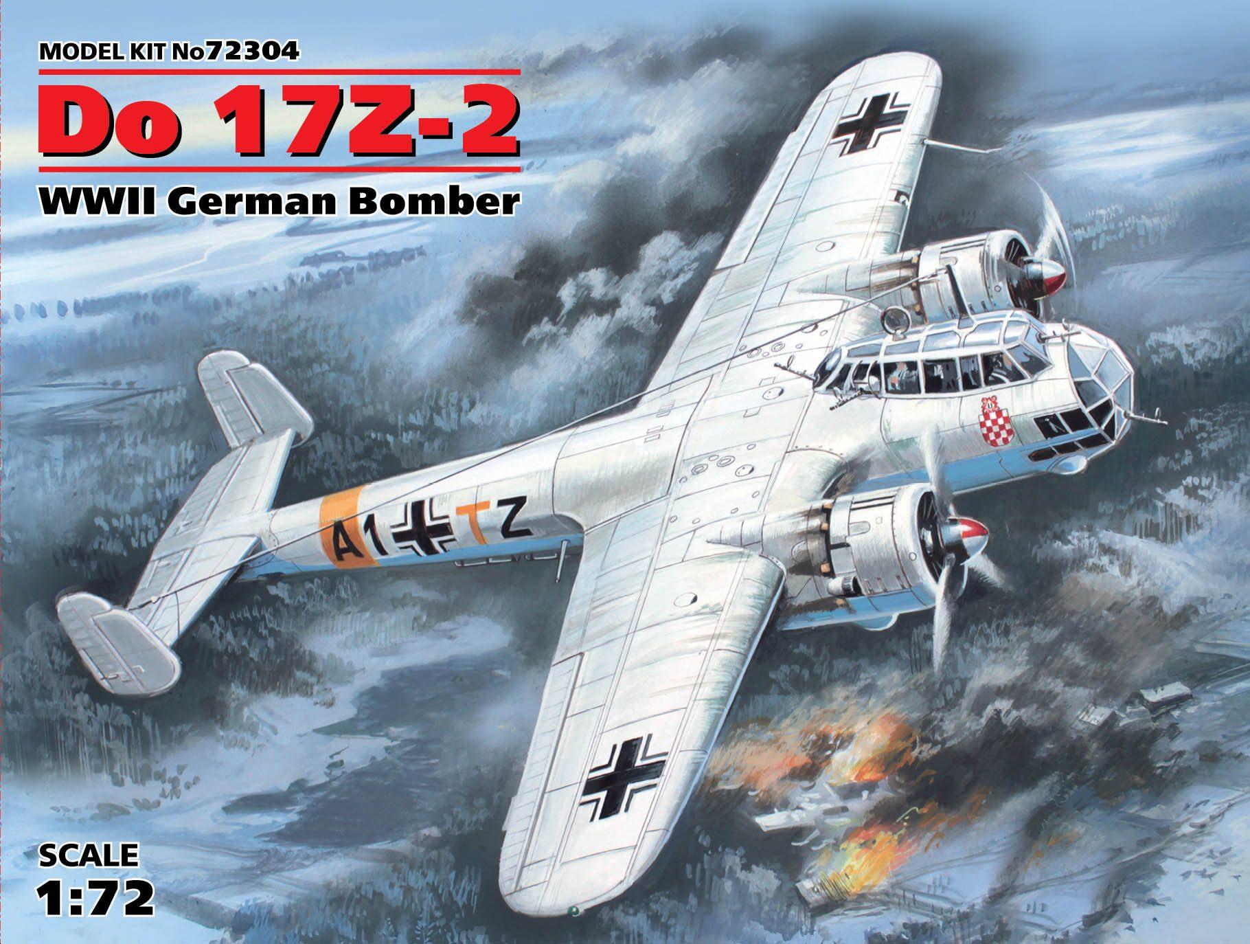 ICM Do 17Z-2, WWII German Bomber