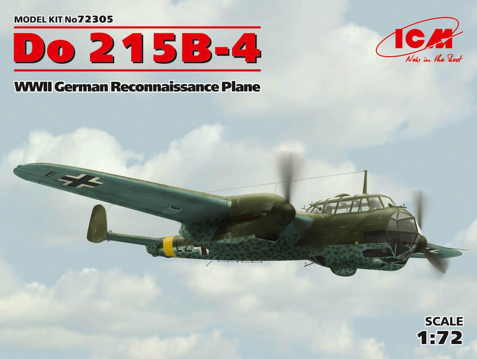 ICM Do 215B-4, WWII Reconnaissance Plane