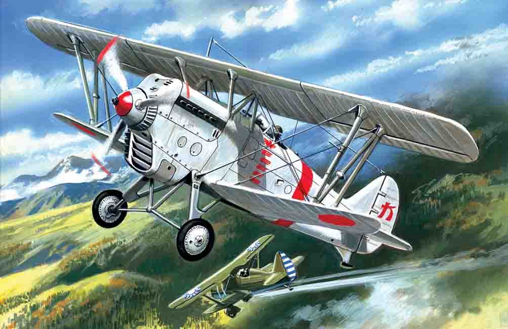 ICM Ki-10-II, Japan Army Biplane Fighter