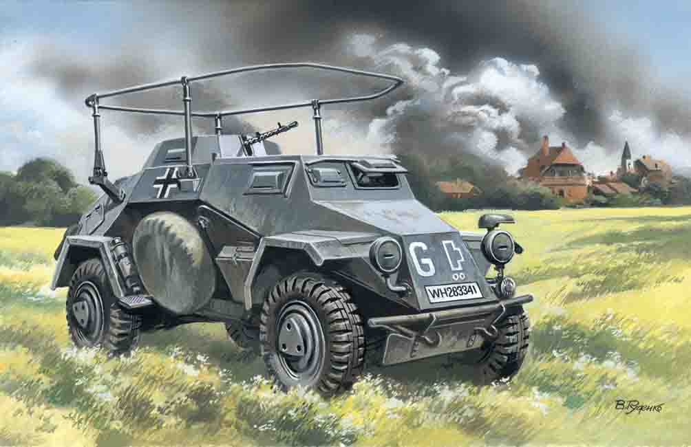 ICM Sd.Kfz.223, German Radio Communication Vehicle