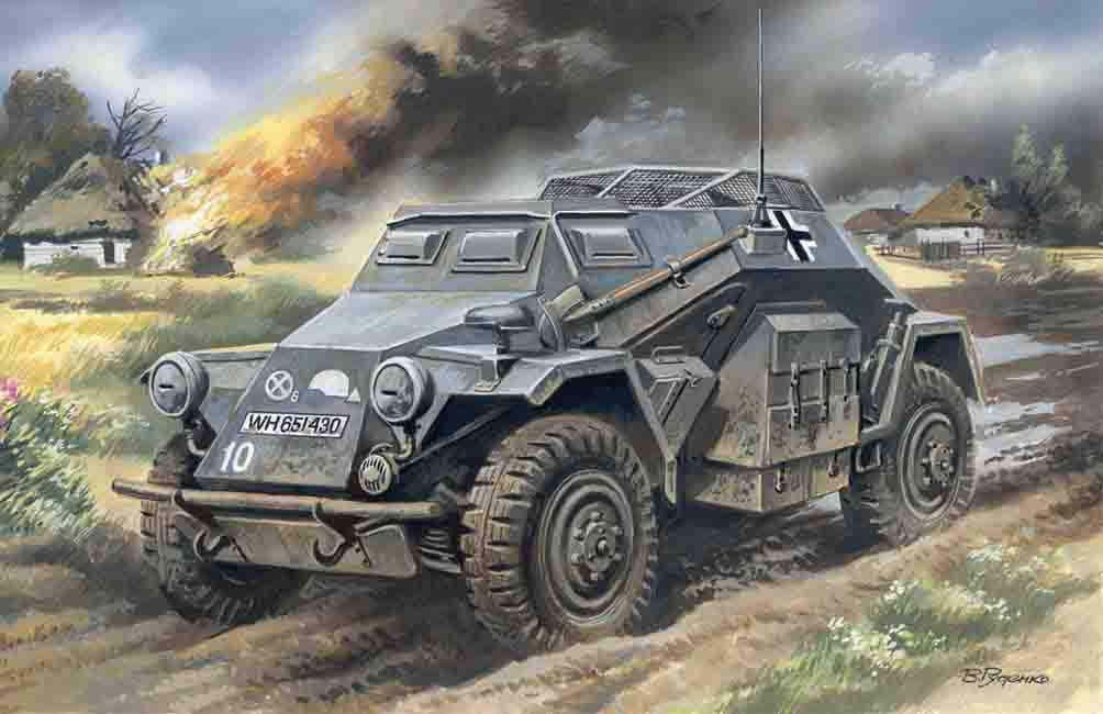 ICM Sd.Kfz.260, German Radio Communication Vehicle