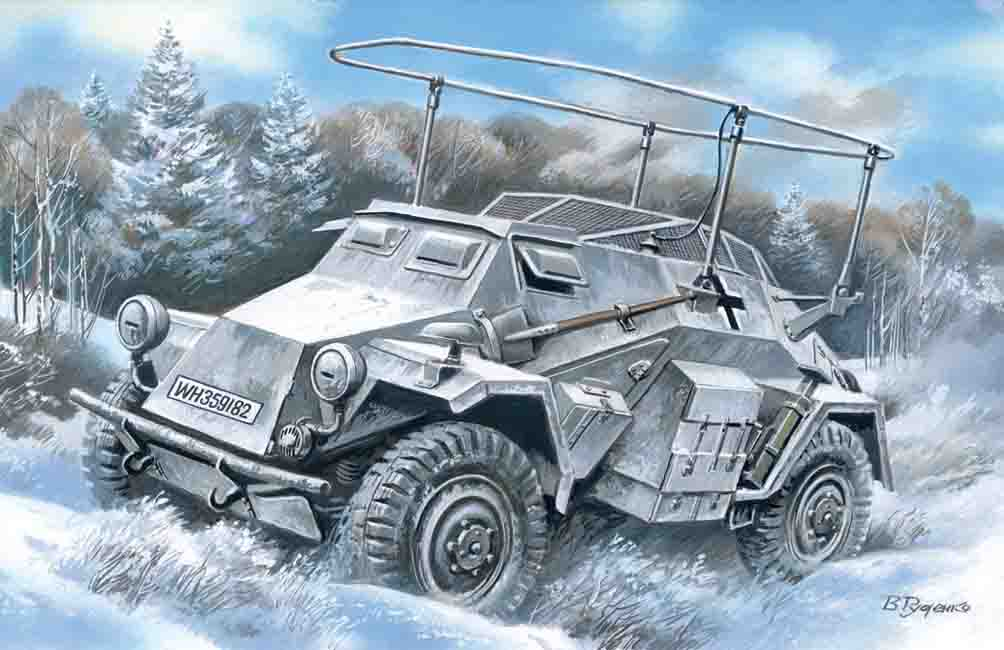 ICM Sd.Kfz.261, German Radio Communication Vehicle