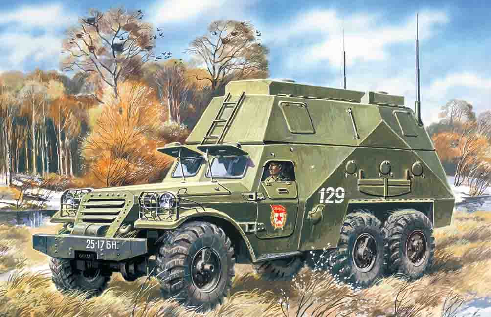 ICM BTR-152S, Armoured Command Vehicle