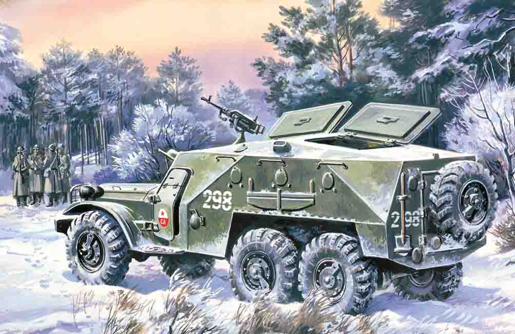 ICM BTR-152K, Armoured Personnel Carrier