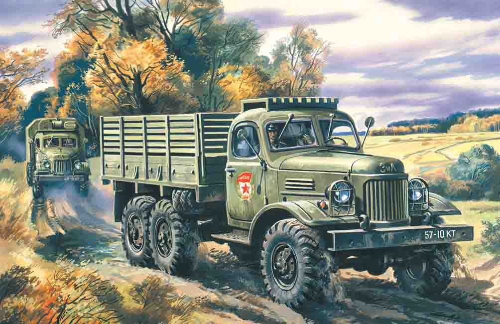 ICM ZiL-157, Army Truck