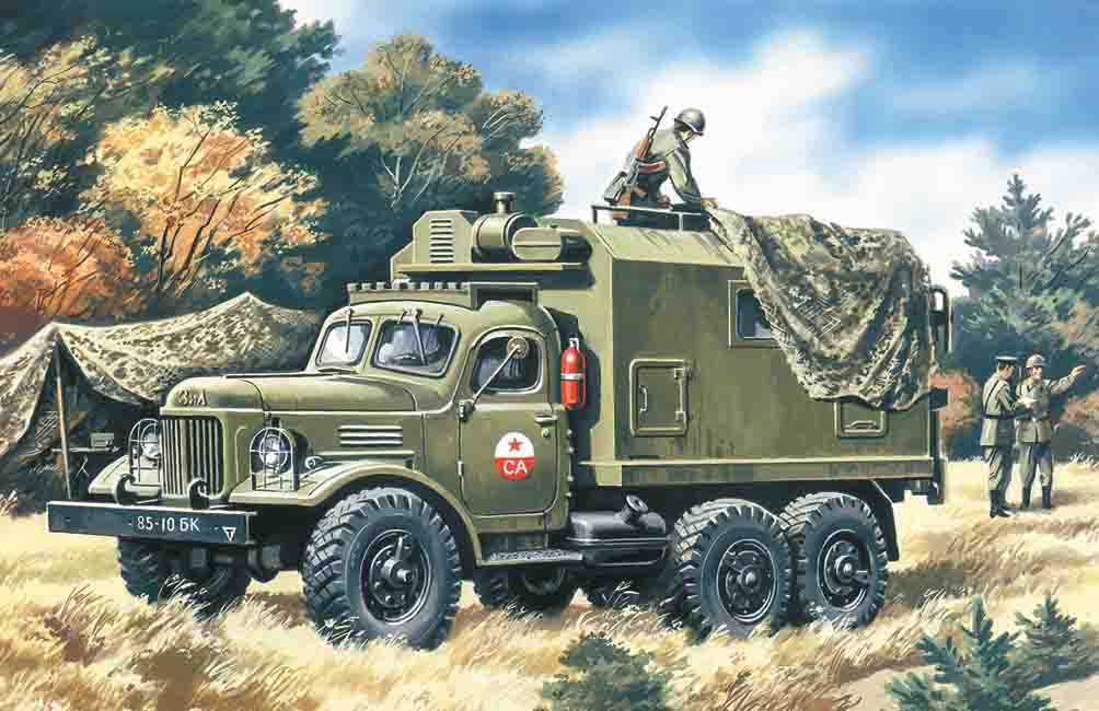 ICM ZiL-157, Command Vehicle